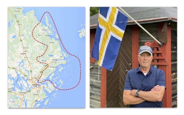 Roslagen flag Erik Rudolfsson